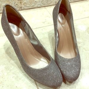 Sparkly Silver Style and Co , women's 9.5 heels